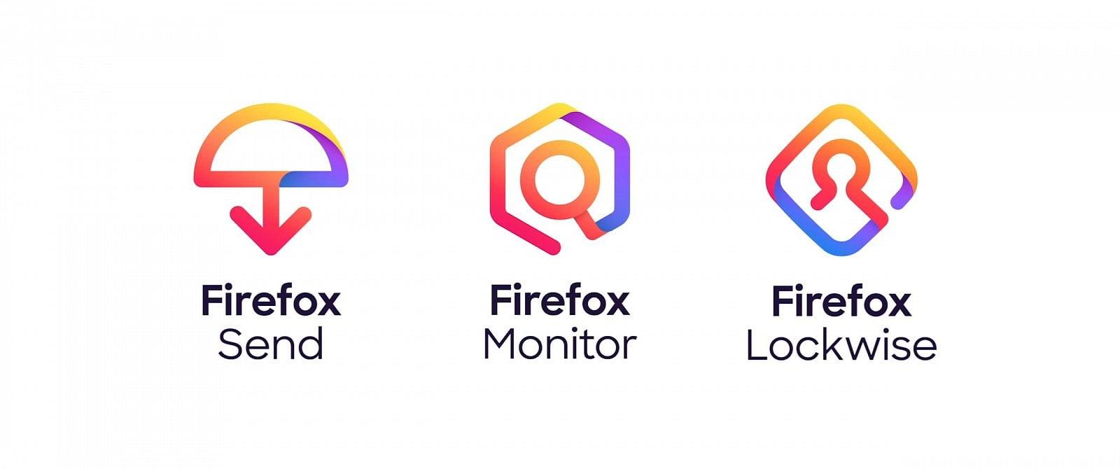 Mozilla nová loga