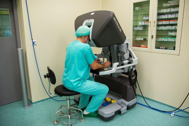 Robotické operace prostaty