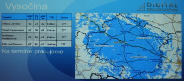 Vypnutí DVB-T vysílačů Digital Broadcasting na Vysočině.