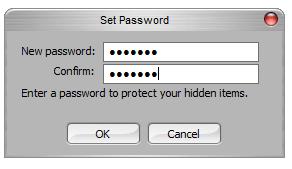 <p>Nastavení hesla je nezbytné</p>