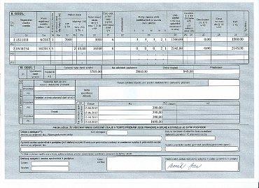 Příklad výpočtu silniční daně