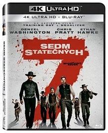 Bontonfilm uvádí první lokalizovaný Ultra HD (4K) film na nosiči Blu-ray na českém a slovenském trhu - novou verzi Sedmi statečných.