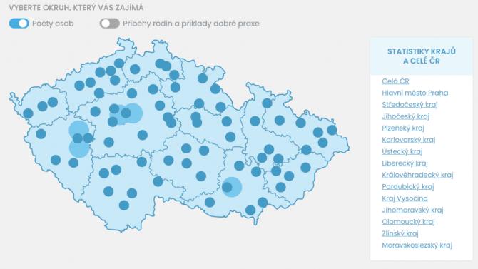 [článek] Nejlepší aplikace nad otevřenými daty: Mapa autismu ipřehled odběrových míst COVID-19