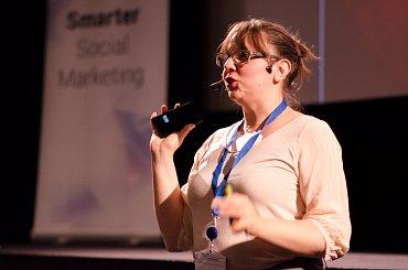Sophie Freiermuth na WebExpu 2014