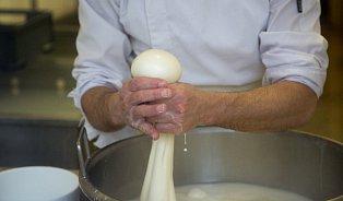 Jak se vyrábí mozzarella? Každý kus je originál