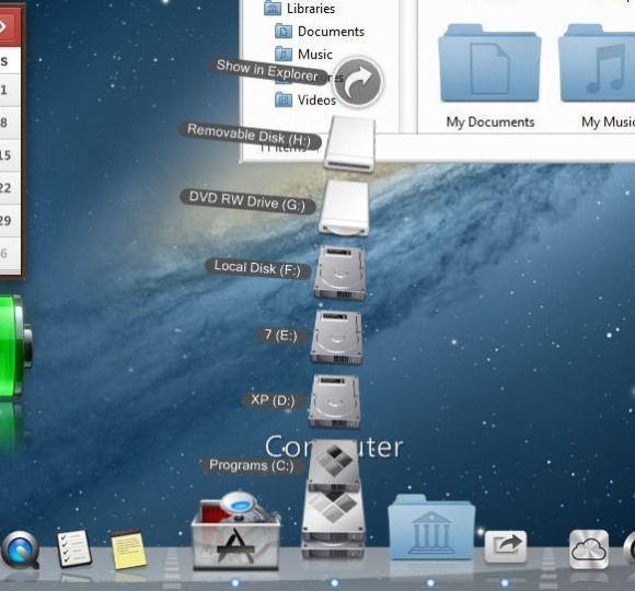 Díky programu RocketDock bude váš počítač s operačním systémem Windows vypadat stejně jako Mac