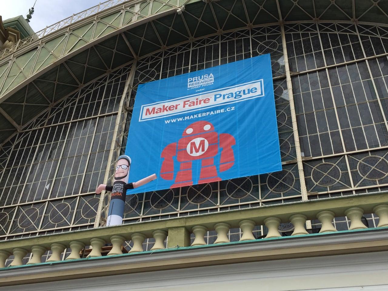 Jak vypadal první Maker Faire v Praze