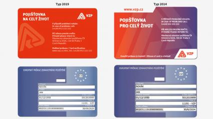 Vitalia.cz: Nové průkazy pojištěnců VZP: již od září