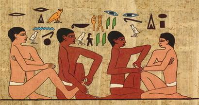 Historie masáže