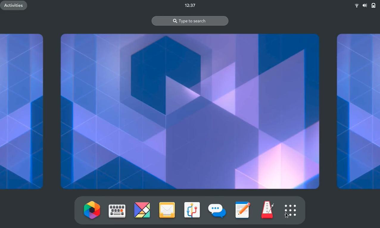 Redesign pro GNOME 40