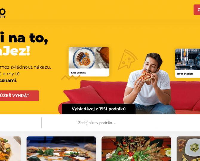 [aktualita] Nová platforma pro rozvoz hotových jídel Mealio agreguje všechny známé dopravce
