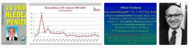 """Výsledek vyhledávání obrázků vyhledavačem duckduckgo.com. Vyhledávací dotaz """"Za vším hledej peníze inflace Friedman""""."""