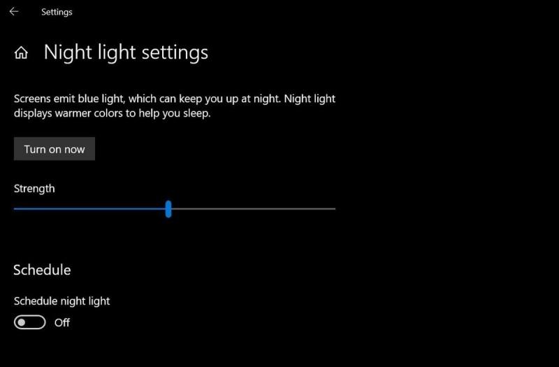 Možnosti konfigurace nočního osvětlení jsou sice omezené, ale to nic nemění na tom, že se jedná o vskutku velmi užitečný nástroj.