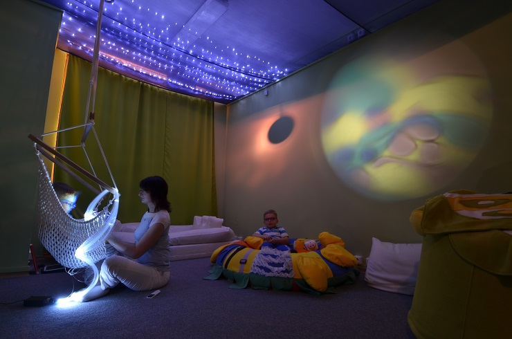Multismyslová místnost Snoezelen