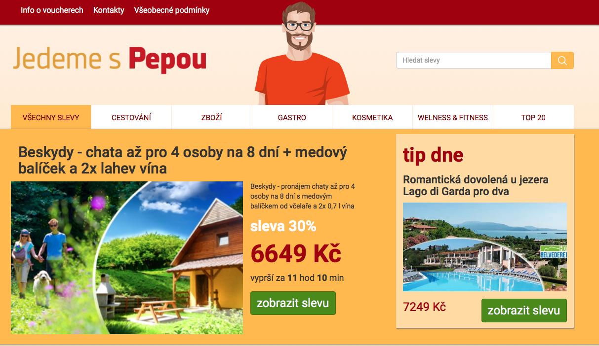 Pepa nově na Klido.cz
