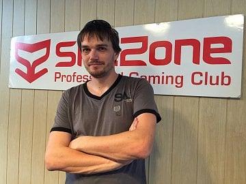 Majitel počítačové herny SkillZone Tomáš Švec.