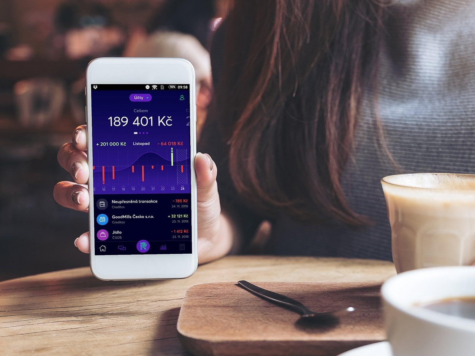 Aplikace Richee od Banky CREDITAS