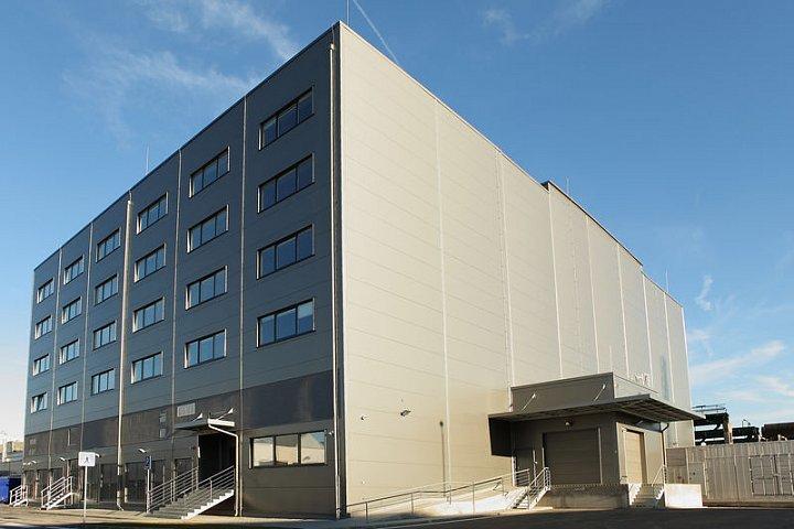 Datacube: pohled na budovu