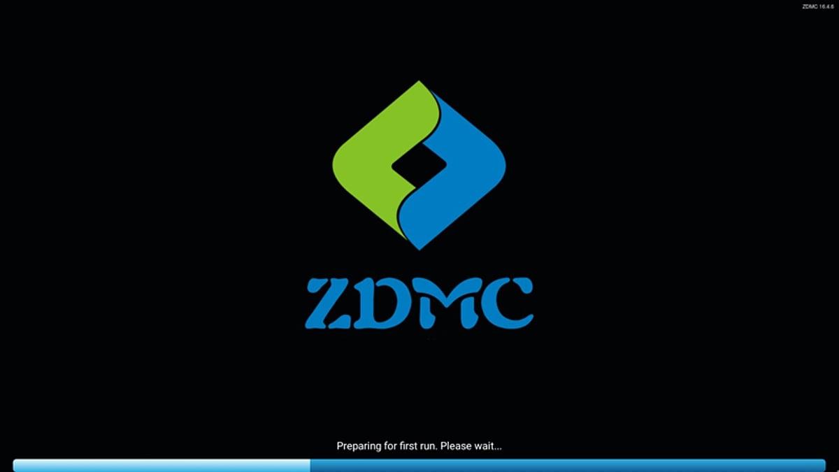 Zidoo Z1000 - aplikace