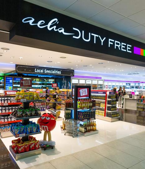 Nový největší duty free obchod na letišti v Praze