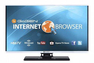 Moderní chytrý televizor Gogen TVF 40384 Web postavený na platformě Opera jsme vyzkoušeli s velice dobrým výsledkem. Výrobce nabízí i verze 61 a 71 cm.