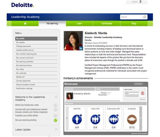 Deloitte Leadership Academy