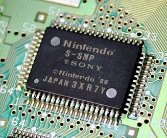 Tak to je on, zvukový čip v SNES