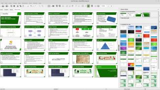 LibreOffice, převod prezentace