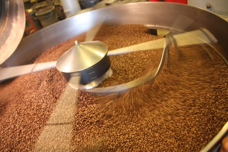 Pražírna kávy doubleshot a tréninkové centrum v Praze Karlíně