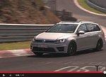 VIDEO: VW Golf R Variant drtí Nürburgring, zatím jako prototyp