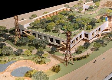 Podoba nové budovy, která bude propojena se stávajícím sídlem Facebooku podzemním tunelem.