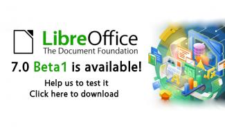 LibreOffice 7.0 Beta1