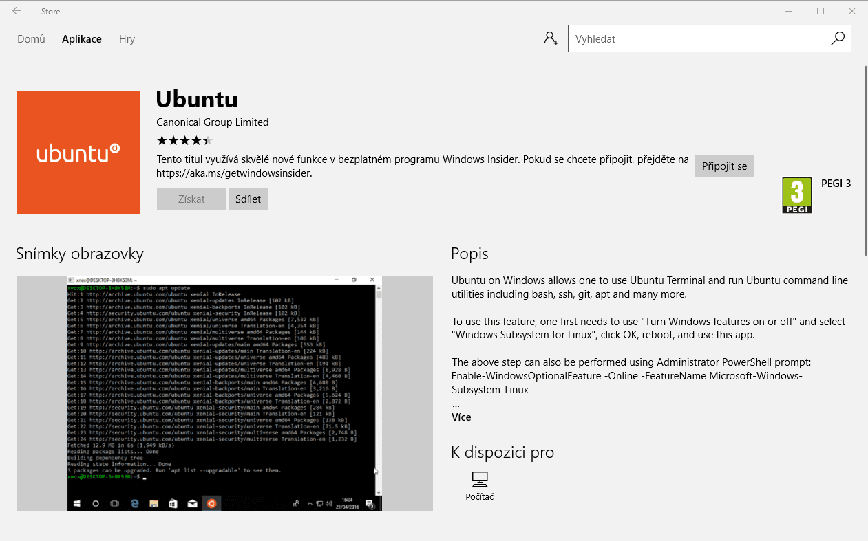 Ubuntu ve Windows