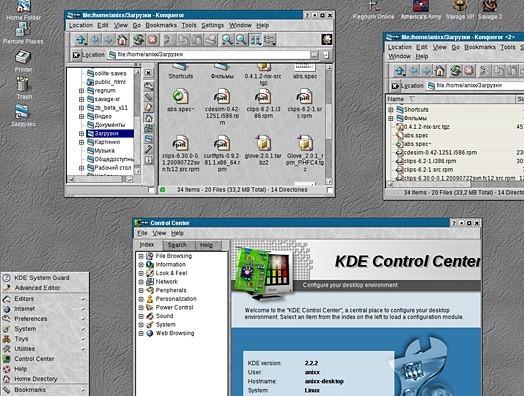 K Desktop Environment 2