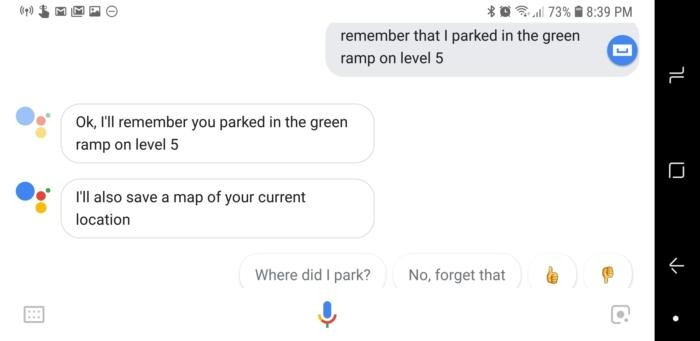 Funkce pro zapamatování v Asistentovi Google
