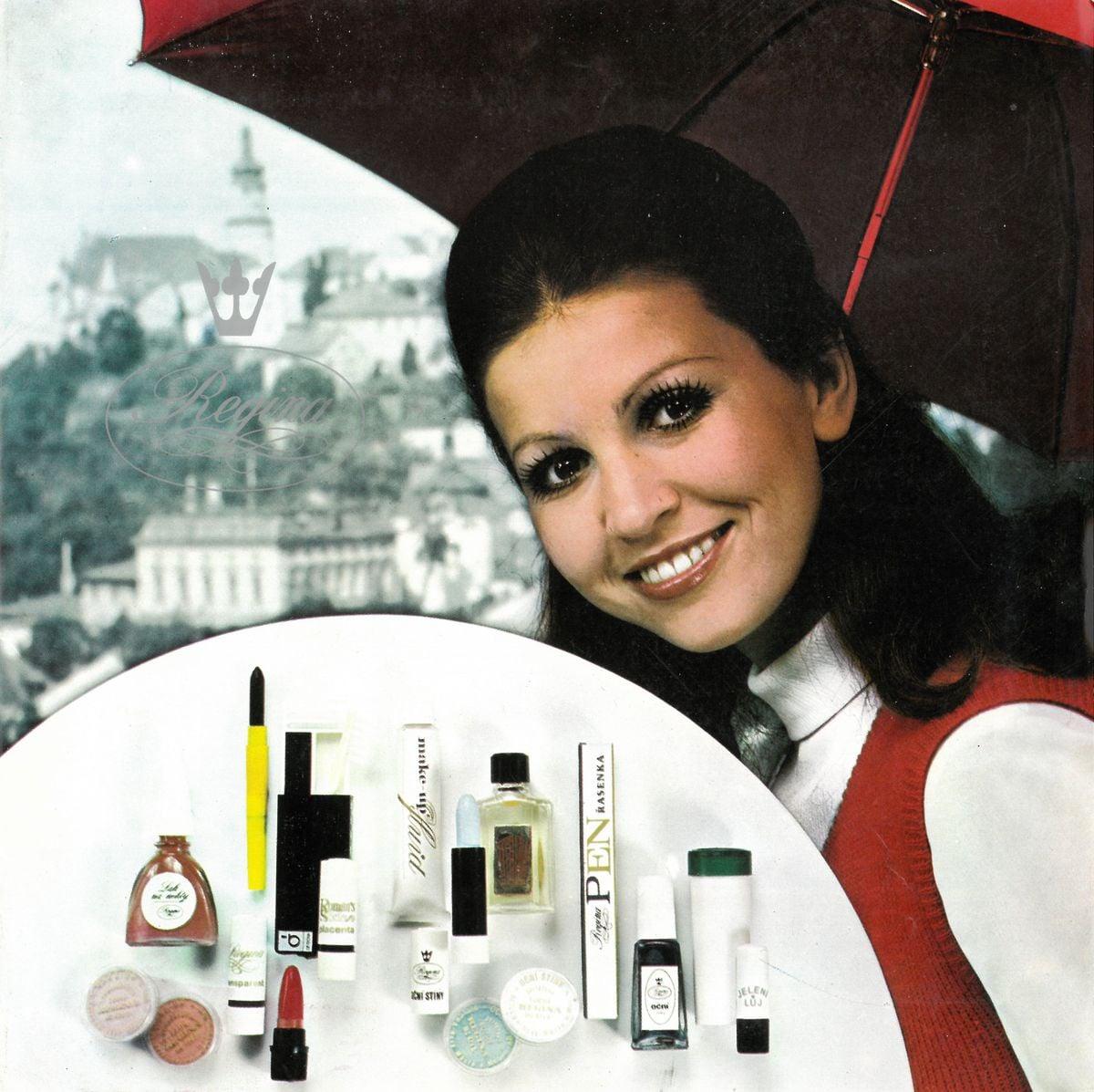Historie výroby kosmetiky Regina