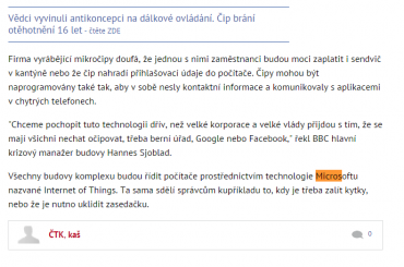 IoT je prý technologie Microsoftu. Tedy aspoň podle českých novinářů.