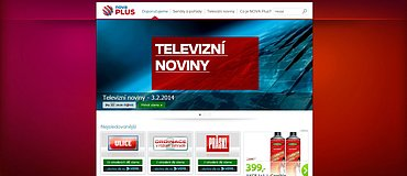 Náhled portálu Nova Plus