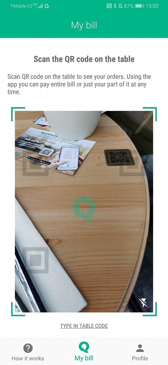 Qerko: bezkontaktní placení přes QR kódy a chytrý telefon
