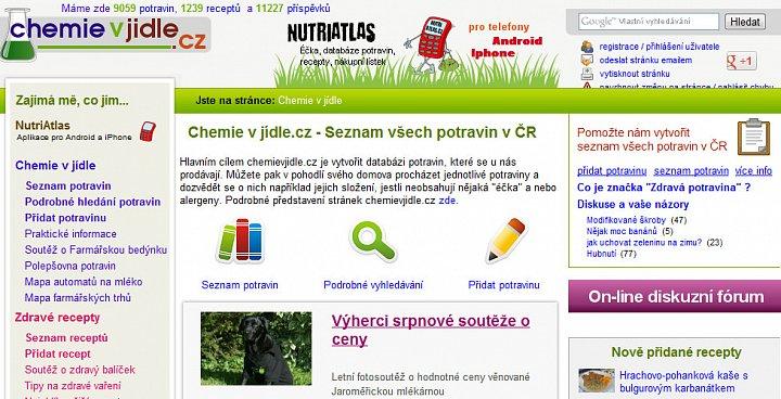 Chemievjidle.cz