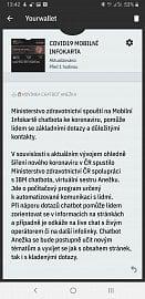 Digitální infokarta má vlastního chatbota Anežku.