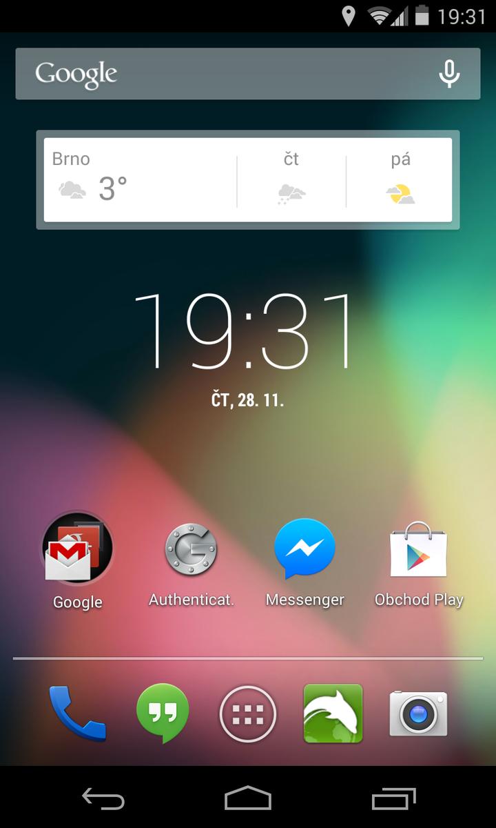 Android 4.4 KitKat - systém