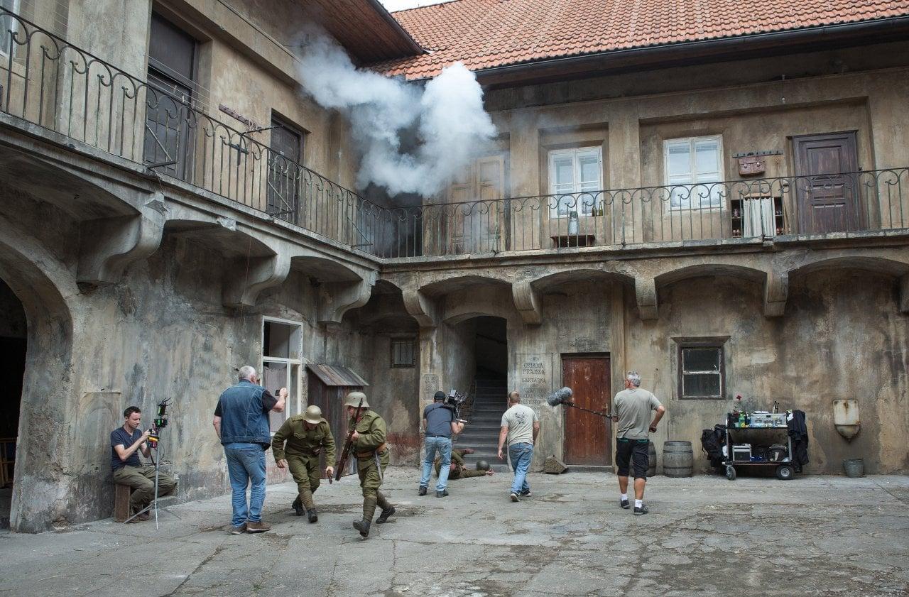 Natáčení seriálu Zločiny Velké Prahy