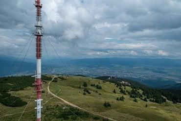 Žilinská Križava (na snímku) přecházela na DVB-T2 minulý týden, nyní to čeká vysílač Bratislava – Kamzík.
