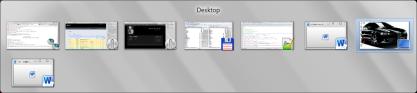 Win 7 - přepínání aplikací pomocí Alt+Tab