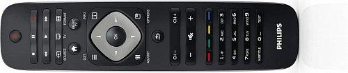 Dálkový ovladač má široký záběr infrapaprsku a slušné rozložení. Chybí dvě věci – tlačítko EPG a tlačítko pro přímý vstup do nahraných pořadů. Ty bohužel neobsahuje ani jinak pěkný dálkový ovladač pro Android, který jsem s televizorem také vyzkoušel.