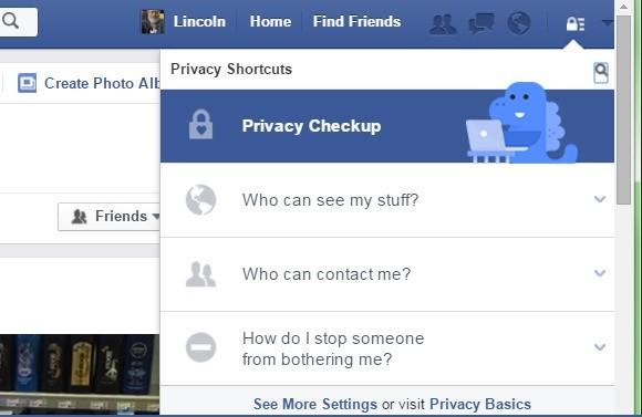 Nastavení ochrany soukromí na Facebooku