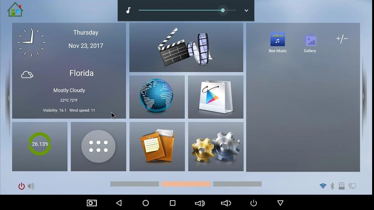 GUI a přístup k aplikacím
