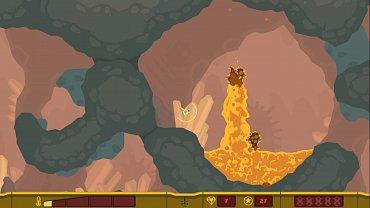 PixelJunk Shooter - obrázky ze hry