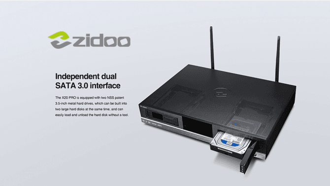 Co dovedou a jak jsou vybavená multimediální centra Zidoo X 20a X 20Pro